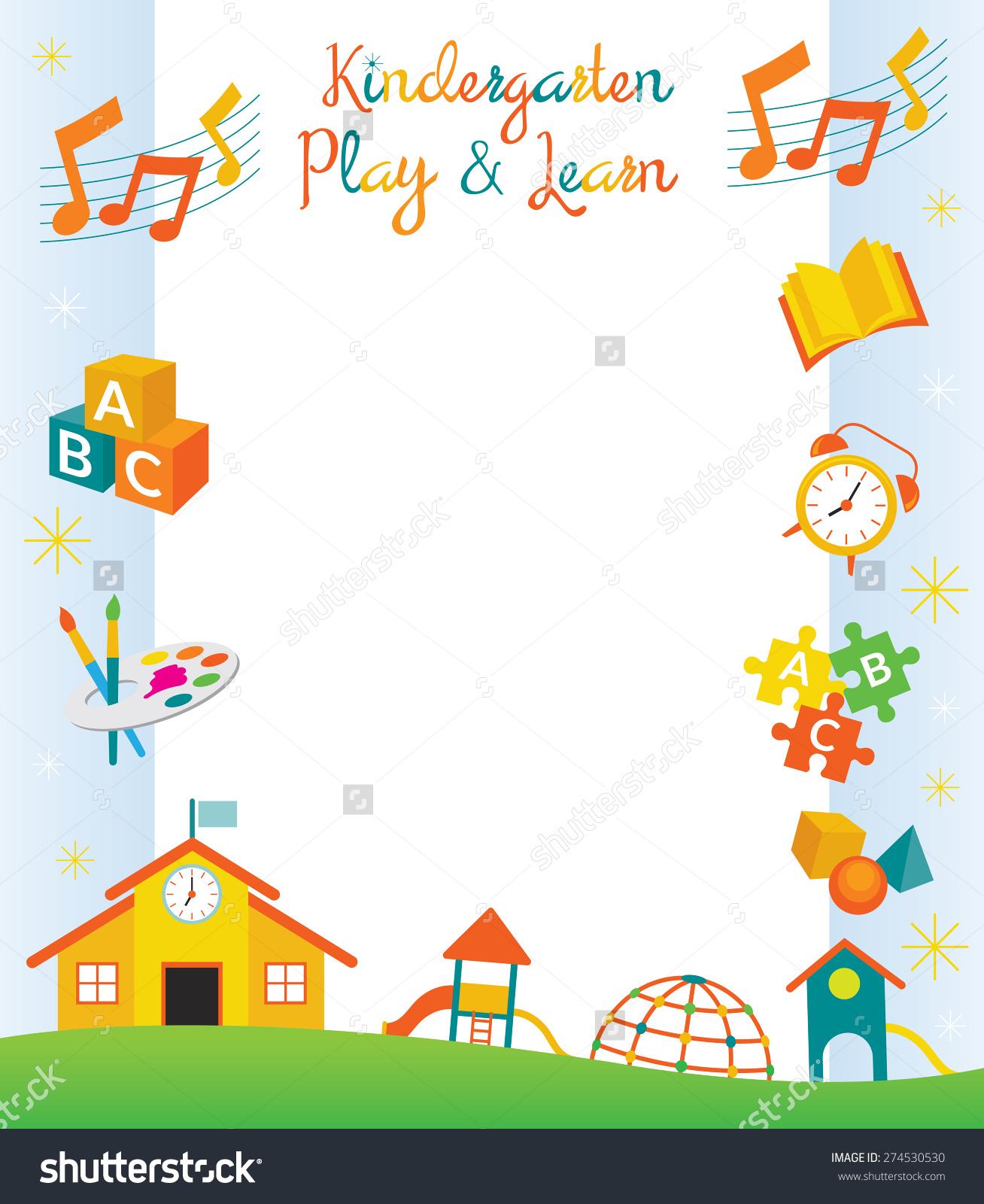 Kindergarten Clip Art: Kindergarten Clipart Borders 20 Free Cliparts