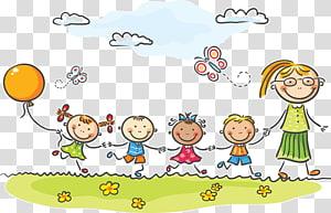 Kindergarten transparent background PNG cliparts free.