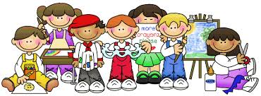 Kindergarten Friends Clipart.