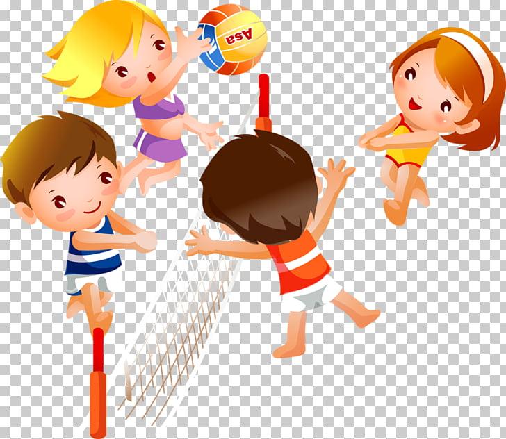 Portal Video game Child Kindergarten, Happy little friends.
