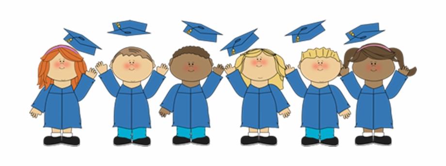 Clipart Transparent Library Kids Graduation Clipart.