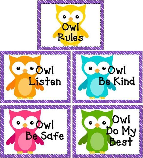 Classroom Rules Worksheet For Kindergarten