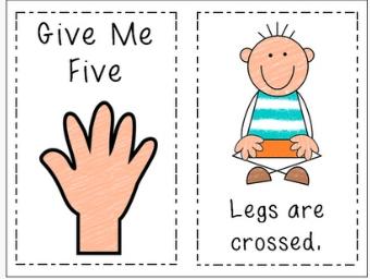 Preschool Classroom Rules Clipart.