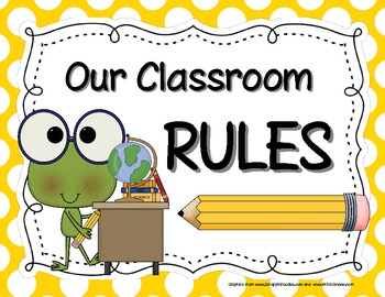 Classroom Rules.