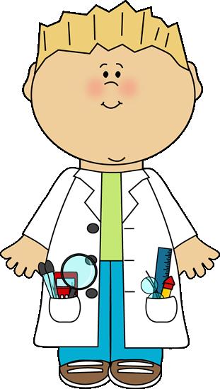 Boy scientist.
