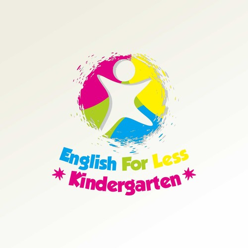 Logo design for a kindergarten.