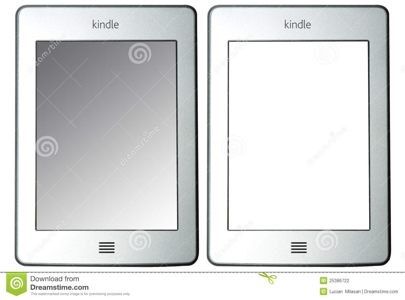 Kindle Touch Editorial Photography.