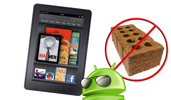 How to Unbrick Your Amazon Kindle Fire.