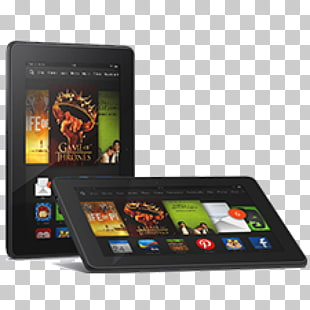 3 amazon Kindle Fire Hd 7 PNG cliparts for free download.