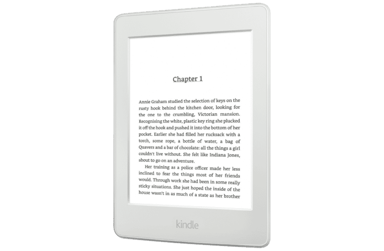 Kindle B017DOUYX8 Paperwhite White eReader at The Good Guys.