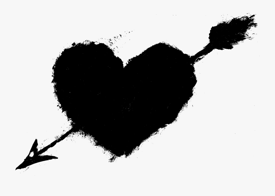 Heart Kinemaster Template Png Black Background , Free.