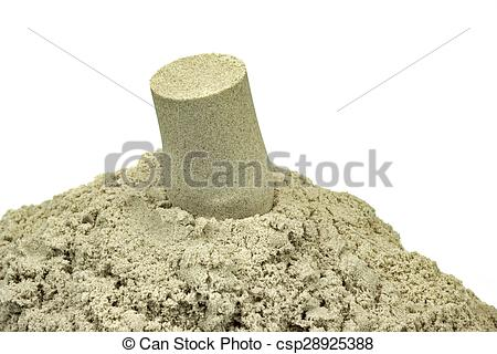 Kinetic Sand For Children Indoor Table Game And Creativity.