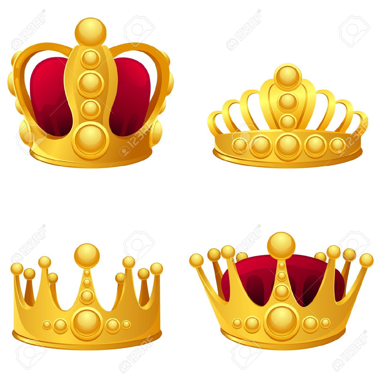 King and queen crown clipart 3 » Clipart Station.