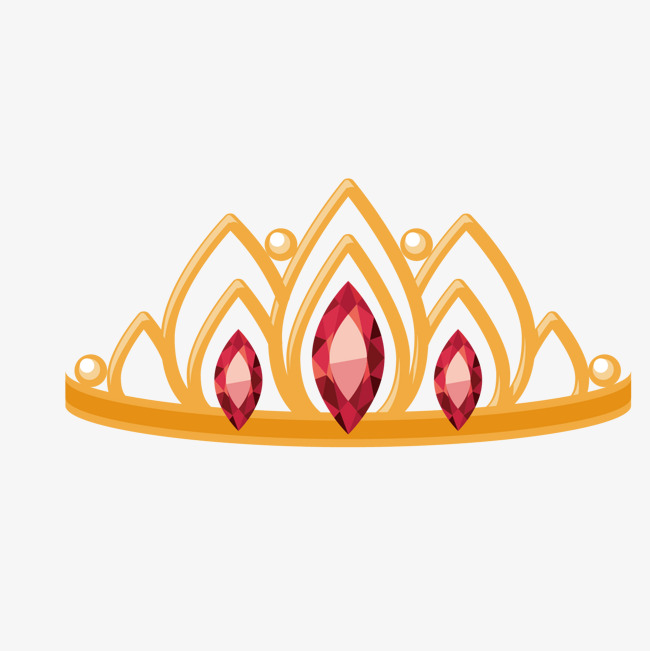 Ruby Queen Crown, Crown Clipart, Ruby, F #59263.