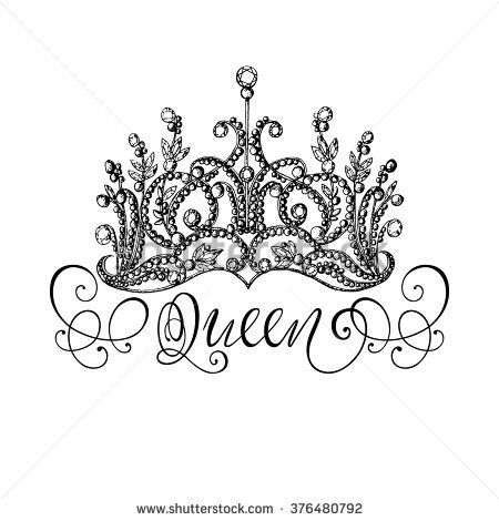 king and queen crowns together clipart #10
