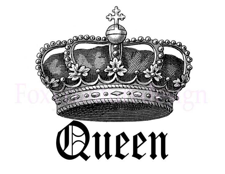 king and queen crowns together clipart #8