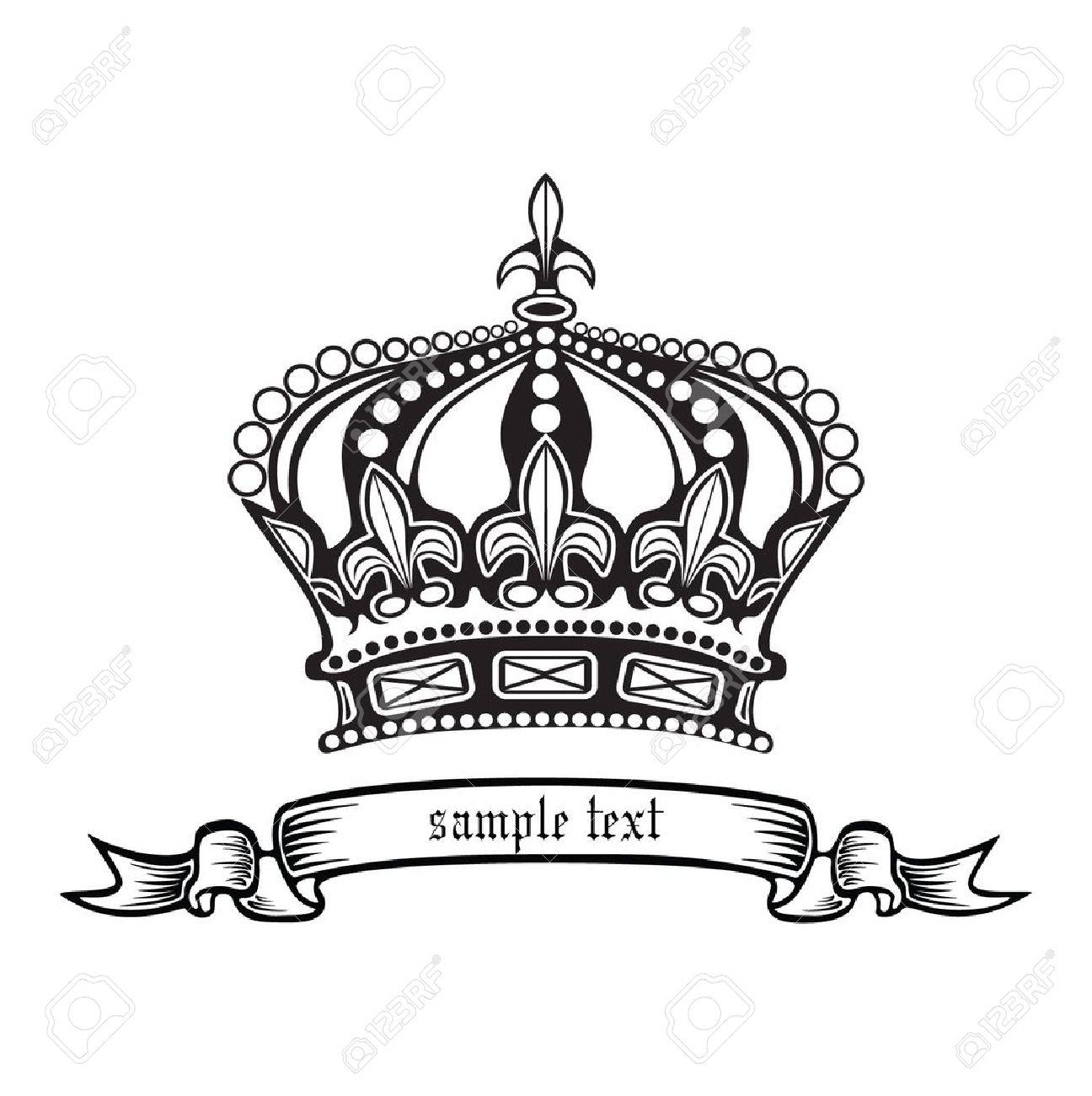 Kings Crown Drawing Crown Crown King Queen.