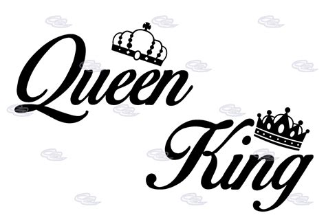 King and queen Logos.