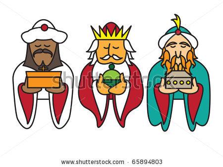 Three kings clipart.