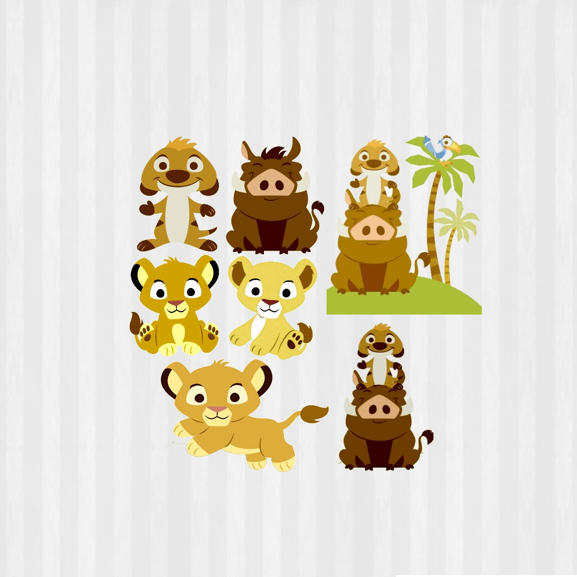 Bebé León rey Clip art, SVG Baby Lion King, Rey León baby shower.