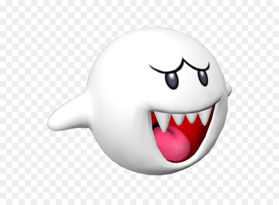 Mario Tooth King Boo Boos Cartoon.