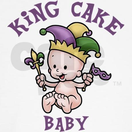 King Cake Baby II Maternity Dark T.