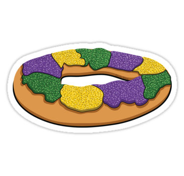 King Cake Clipart.