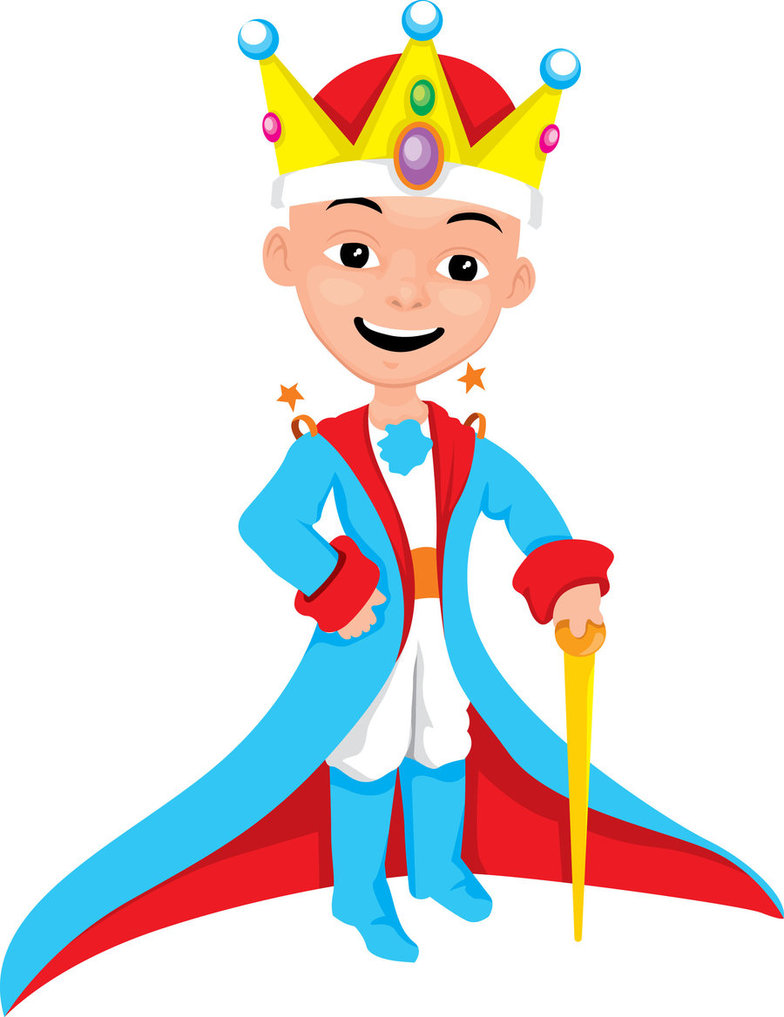little king cartoon by simonjakub on Clipart library.