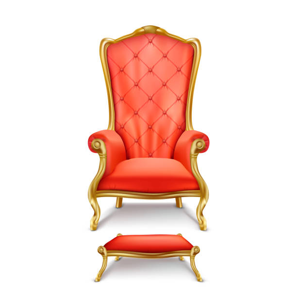 Best King Chair Illustrations, Royalty.