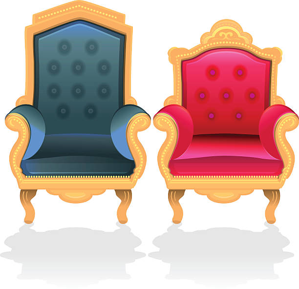 Best Throne Chair Illustrations, Royalty.
