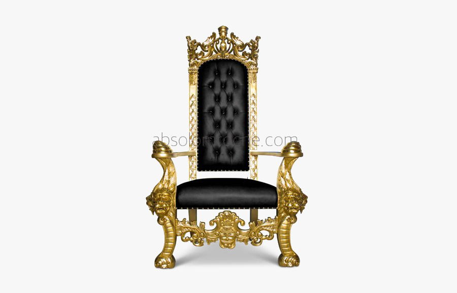 Throne Chair Png Transparent Image.