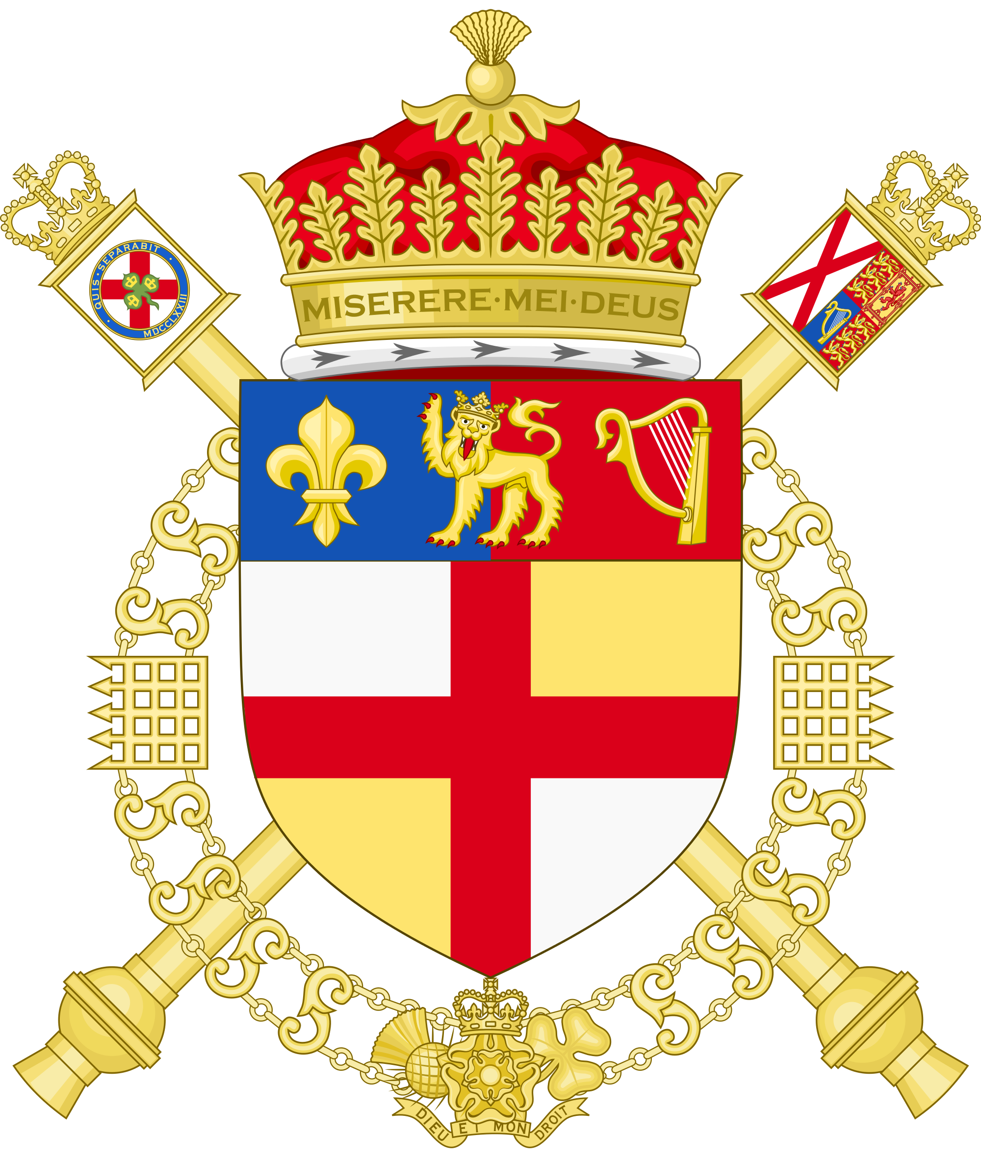 File:Coat of Arms of the Norroy and Ulster King of Arms.svg.
