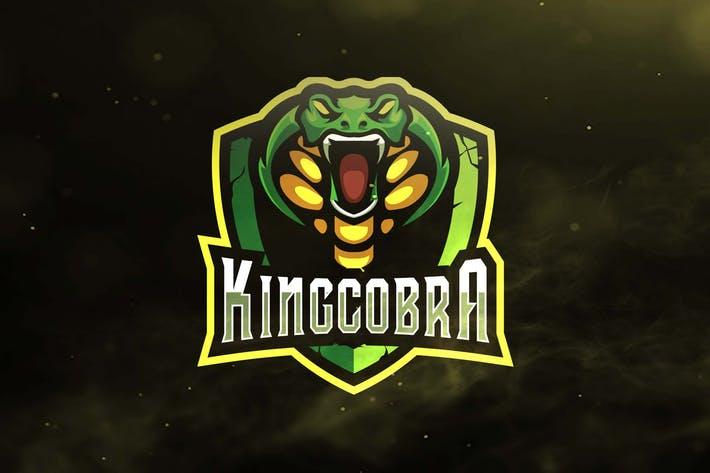 The King Cobra Sport and Esports Logo by ovozdigital on Envato Elements.