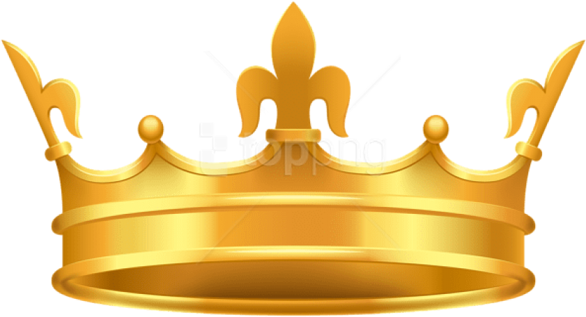 HD Crown Clipart Png Transparent Background.