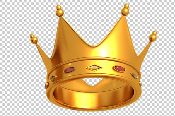 Crown transparent gold crown clipart no background.