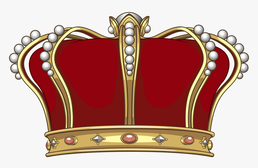 King Crown Png Clip Art Image.