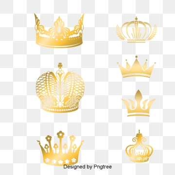 King Crown PNG Images.