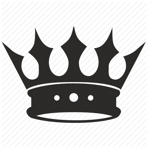 King Crown Logo Icon #336726.