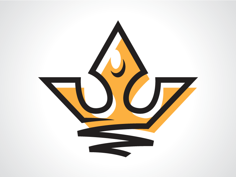 River King Crown Logo Template by Heavtryq on Dribbble.