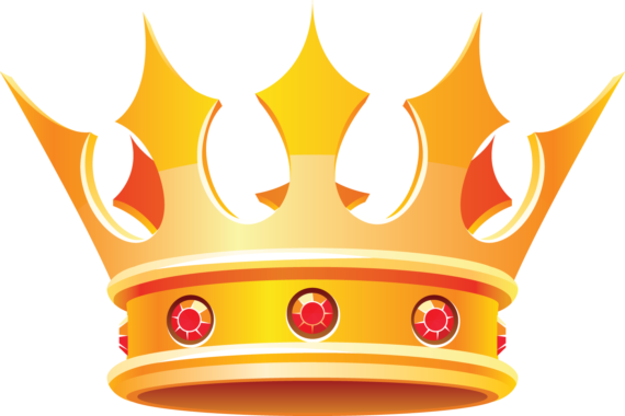 Free Clip art of King Crown Clipart #1851 Best Simple Yellow King.