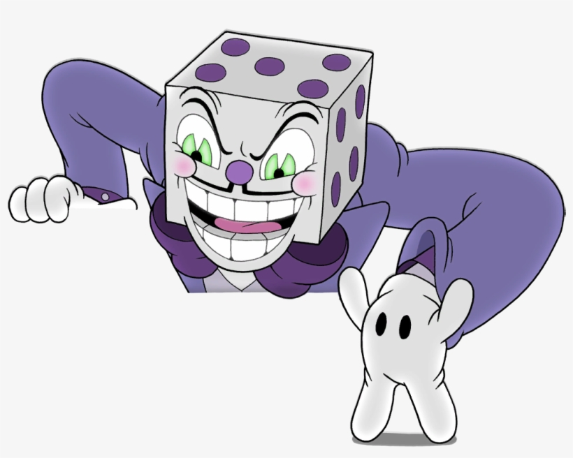 Cuphead King Dice Png PNG Image.
