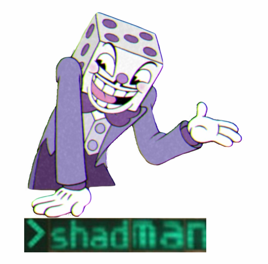 Cuphead King Dice Png.