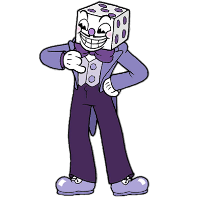 Cuphead King Dice transparent PNG.