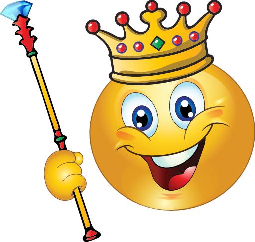 King Smiley Face.