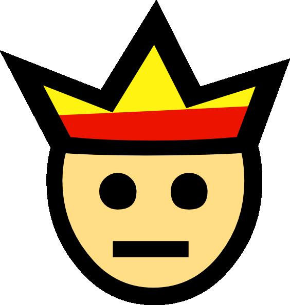 King Face Clip Art at Clker.com.
