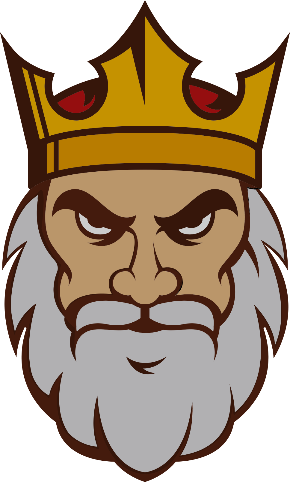 King Face Clipart Png , Transparent Cartoon.