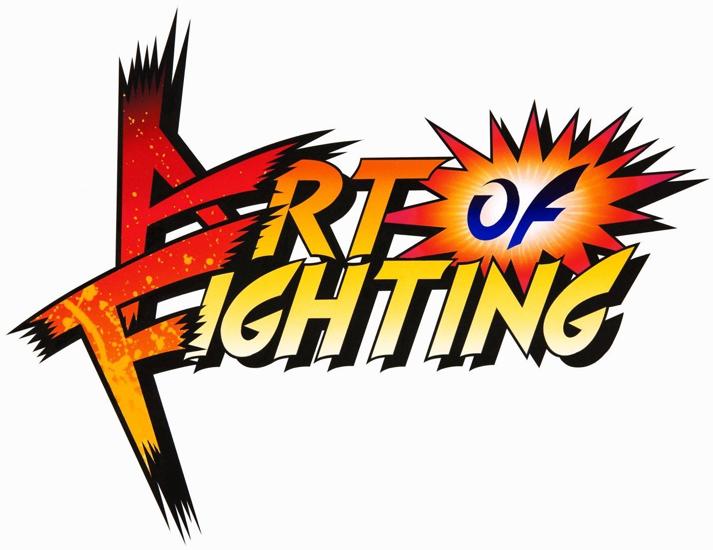 king of fighters logo.