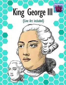 King George III Clipart.