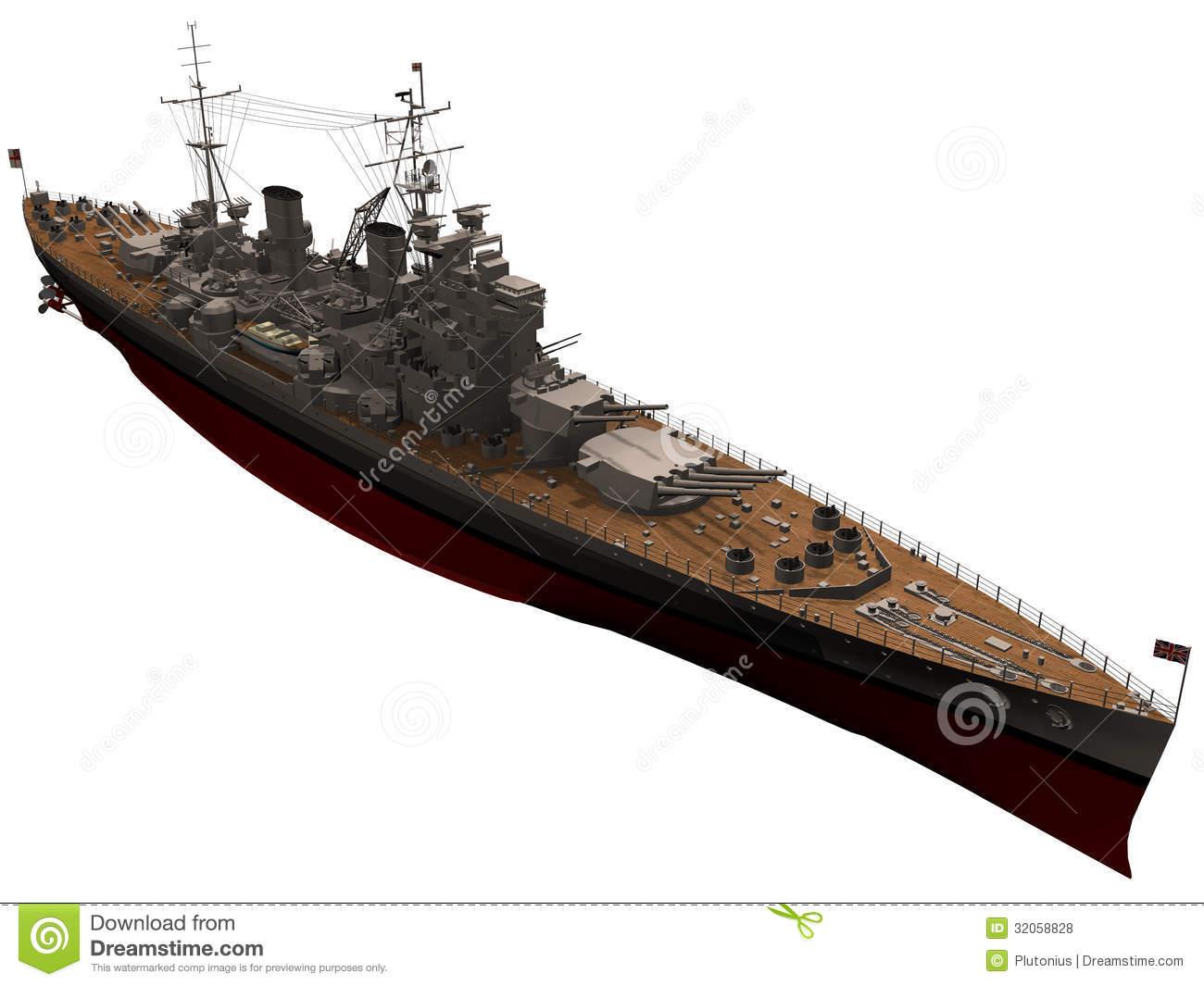 Battleship Stock Illustrations.