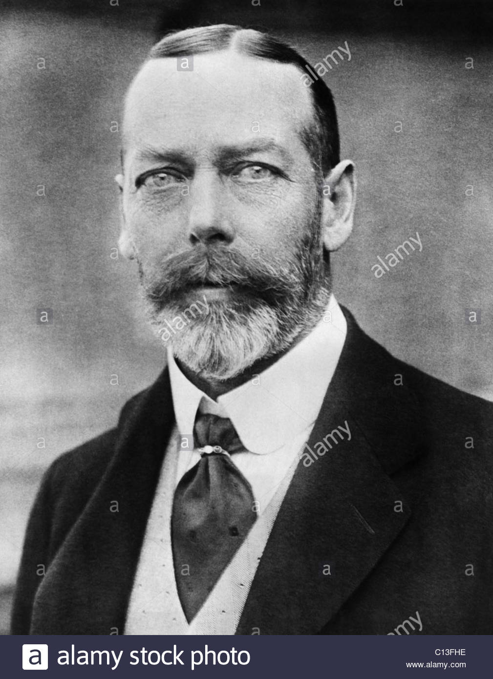 British Royalty. King George V Of England, Circa 1920s Stock Photo.